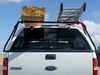 No Drill Truck Cap Ladder Rack crossbar adjusts to fit most truck beds