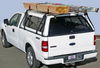 No Drill Truck Cap Ladder Rack carries up to 250 lbs of evenly distributed loads