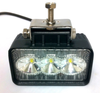 9 Watt LED Professional Wide Flood/Work Light includes a stainless steel mounting bracket
