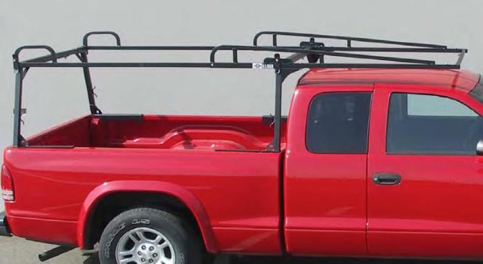 Track System Rail Rack Overhead Ladder Rack Worktrucksusa