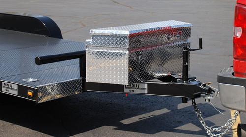 Brute Commercial Grade Trailer Tongue Tool Boxes are commercial grade for heavy duty use