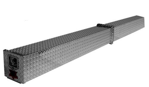 Heavy Duty Diamond Plate Aluminum Conduit Carrier  - Two section construction