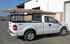 Forklift Accessible Super Heavy Duty Truck Rack loaded for work (ladders, etc not included)