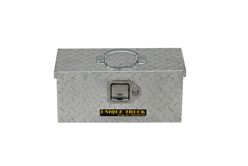 """Commercial Duty Handheld Tote Tool Box - Model 1 - 16"""", but will have a black handle"""