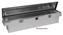 Narrow Standard Crossover Diamond Plate Toolbox