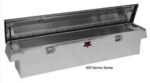 Narrow Standard Crossover Diamond Plate Toolbox