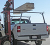 Clipper Aluminum & Stainless Steel Ladder, Lumber, Kayak Truck Rack carries up to 400 lbs of evenly distributed weight