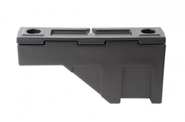 Lid reverses so it can be used on either the driver or passenger side of the truck bed