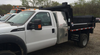Brute Heavy Duty Back Pack Truck Toolbox Model 2 shown mounted on an F450