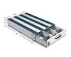 Pack Rat™ Model 307-3 Drawer Toolbox dimensions