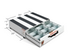 Pack Rat™ Model 312-3 Short And Wide Drawer Toolbox dimensions
