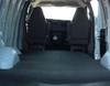 Professional look with added bonus of sound deadening and protection to the floor of the van from moisture and chemicals