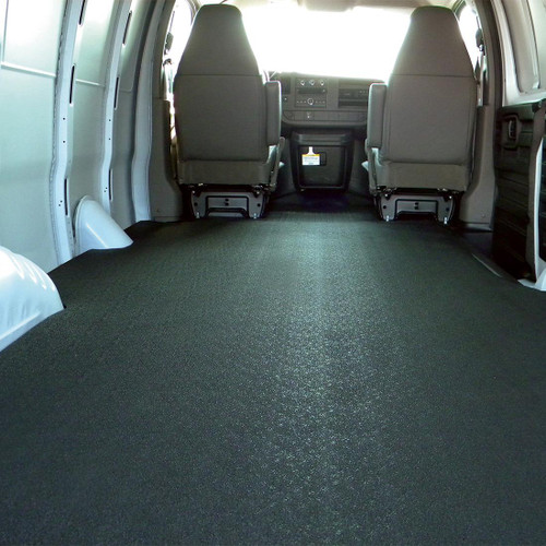 Chevrolet/GMC BEDRUG VanTred Cargo Van Mat is specifically molded to fit your make and model so they look professional and fit like a glove