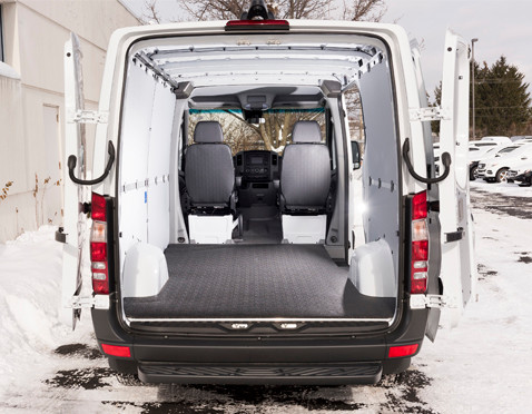 Sprinter BEDRUG VanTred Cargo Van Mat  is specifically molded to fit your make and model so they look professional and fit like a glove