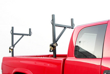 Sidewinder Side Mount Truck Ladder Rack with Built-in Ratchet Straps