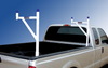 Removable Pickup or Service Body Ladder Racks mounted in a pickup truck