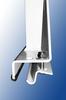 Steel 3-Bar Steel Gutter Mount Chevrolet Express/GMC Savanna/Ford Econoline Van Utility Ladder Rack gutter mount stand.
