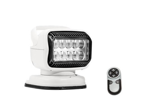 GoLight® RadioRay Series Portable Magnetic Mount Remote Control 40W LED Spot Beam Searchlight