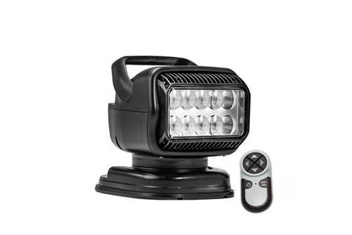 GoLight® RadioRay Series Portable Magnetic Mount Remote Control 40W LED Black Spot Beam Searchlight