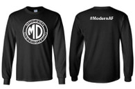 Modern Distribution #ModernAF Long Sleeve T-Shirt Black