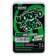 Wotofo X Fiber 3mm Cotton 30CT Package
