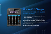 Efan x4 Charger 4-Bay Charger