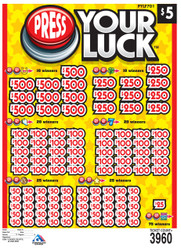 PRESS YOUR LUCK ($5 Ticket)