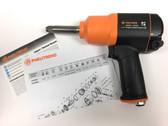 "Pneumatic Impact Wrench 1/2"" Square Drive Pneutrend 24285L 2"" Ext. Anvil"