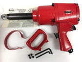"1"" Impact Wrench + Extended  Anvil Sioux 5090AL Air"