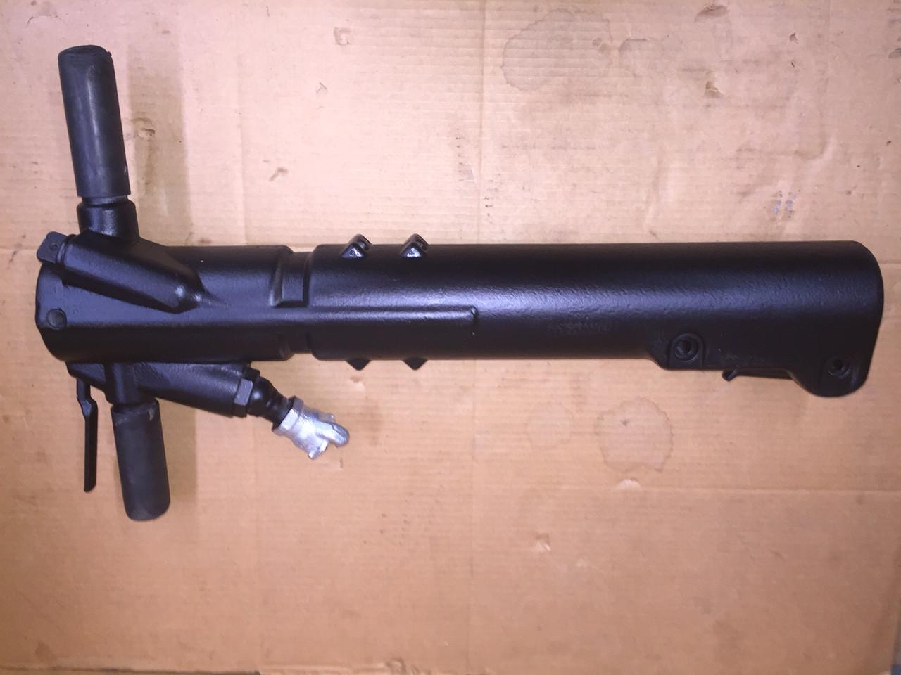 "Atlas copco tex p90 pneumatic heavy breaker (1-1/8""x 6"")w/ silencer."