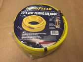 "25' X 3/8"" Pneumatic Pliovic Air Hose 300 PSI GOODYEAR #12860 1/4 Npt"