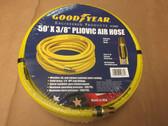 """50' X 3/8"""" Pneumatic Pliovic Air Hose 300 PSI GOODYEAR #12865 1/4"""" Male Thread"""