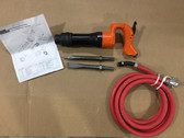 """Pneumatic Chipping Hammer MP-2820R O 2"""" Demolition Hammer With Whip Assembly"""