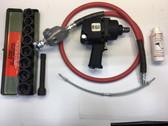 "Pneumatic Impact Wrench 3/4"" Sq Drv. EGI 6065 Twin Hammer KIT"