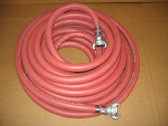 "3/4"" Pneumatic Hose 50 Ft length with CP Fittings"