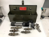 Ingersoll Rand IR-6A Pneumatic Nail Driver Kit Vintage Military Tool