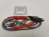 Heated Nippers for cutting Styrene, acrylic and glass filled resin