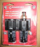 "Pneumatic 1/4"" Filter Lubricator Ingersoll Rand PF2050 2 PIECE LOT"