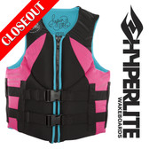 Hyperlite Indy Women's Neo Vest Black/Pink XS ONLY!  ON SALE!