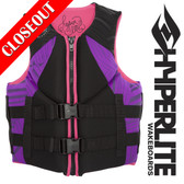 Hyperlite Indy Women's Neo Vest Black/Purple XS ONLY! ON SALE!