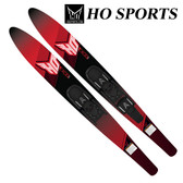"HO Sports 59"" Excel Combo Water Skis (RED)"
