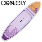 "Connelly Ladies Classic 9' 6"" Paddleboard with Adjustable Paddle"