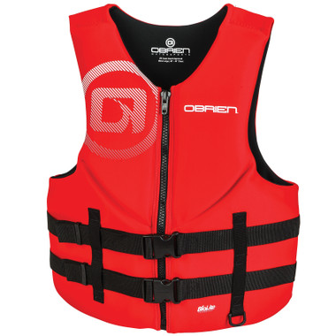 O'Brien Men's Traditional Neo Vest- Red