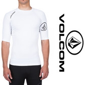 Copy of Volcom Solid Rashguard - White