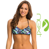 Next Power Thru It Reversible Sweetheart Bikini Top