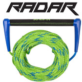 Radar Global Suede Water Ski Handle & 70 ft Mainline