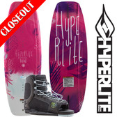 Hyperlite Divine 119 Girl's Wakeboard Package with Jinx Bindings 2019 ON SALE!