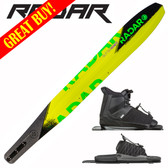 "Radar Butter Knife Slalom 69"" with Prime Binding & Adj Rear Toe Plate ON SALE"