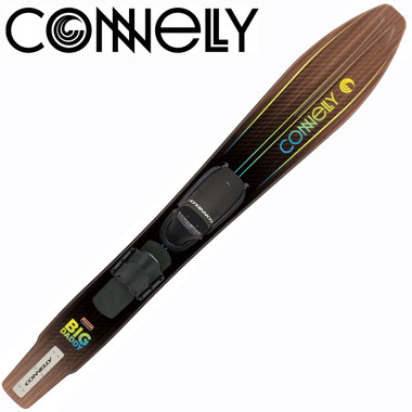 Connelly Big Daddy Slalom with Front Adjustable Binding & Rear Toe Strap