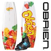 O'Brien Gigi 119 Girl's Wakeboard with Nova Jr. Bindings
